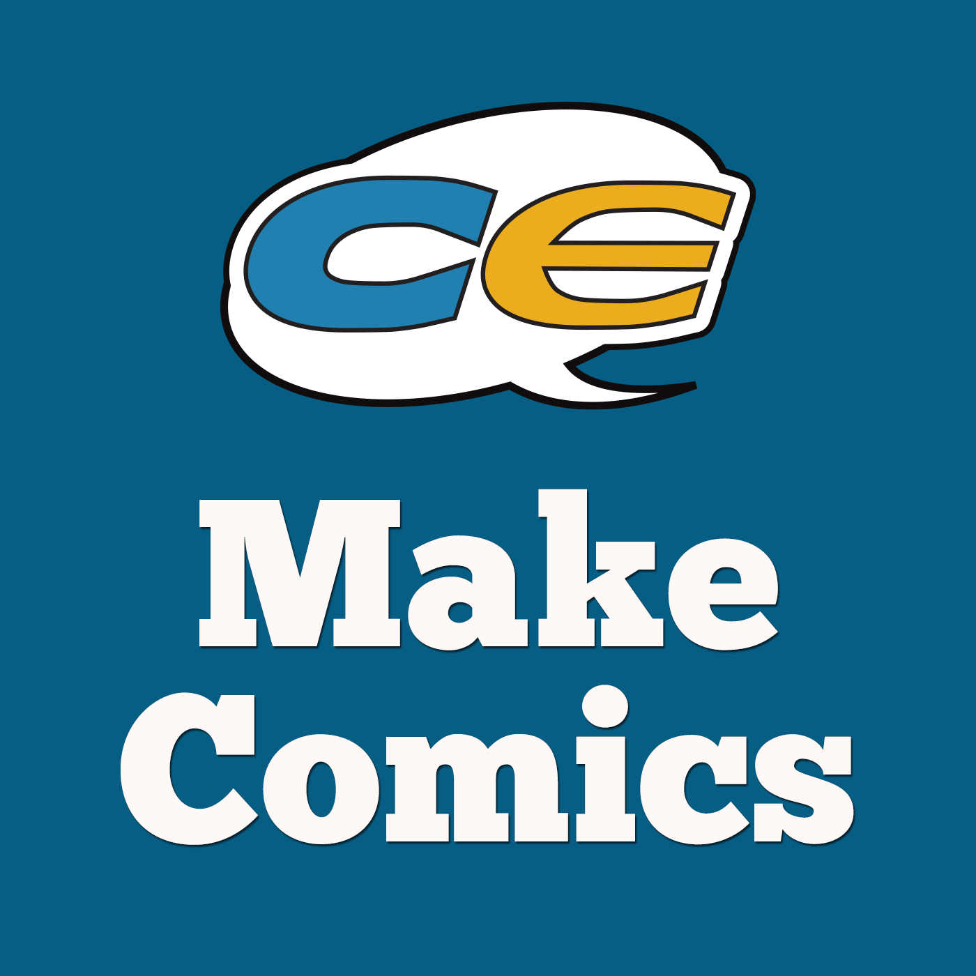 Make Comics Podcast logo