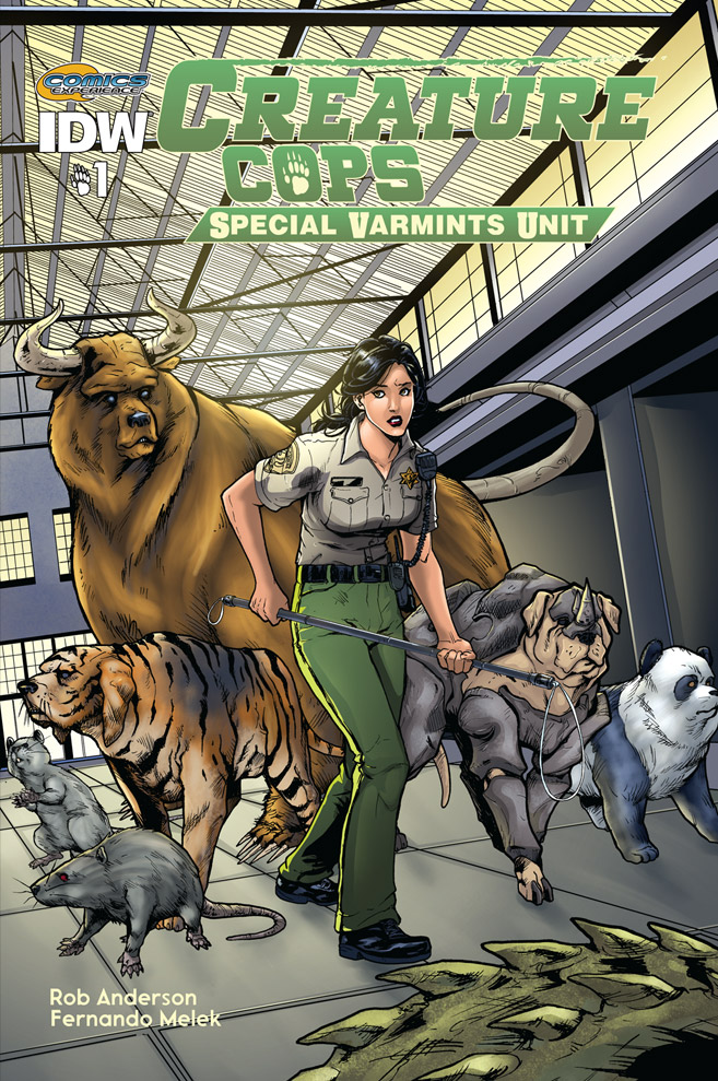 Creature Cops Cover