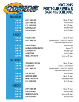 CE 2015 NYCC Portfolio Review Signings1007