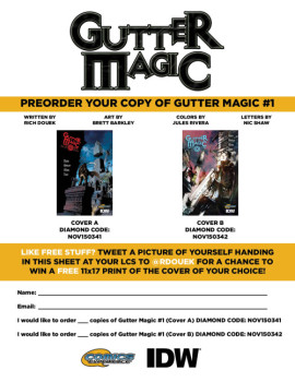 Gutter Magic Preorder form