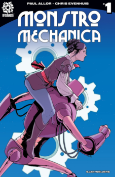 Monstro Mechanica cover