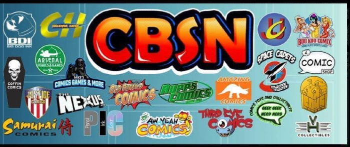 Comic Book Shopping Network - logos of participating shops